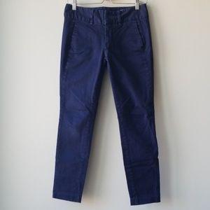 Rag & Bone Blue Skinny Tapered Pants Trouser Sz 26